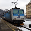 362 085 (91 54 7362 085-3 CZ-CD) at Usti nad Labem Hlavni Nadrazi on 6th February 2017
