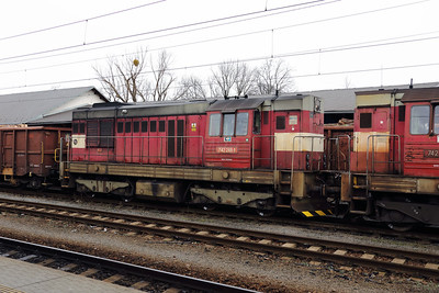 742 261 (92 54 2742 261-1 CZ-CDC) at Opava Vychod on 2nd February 2018