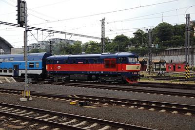 749 121 (92 54 2749 121-0 CZ-CD) at Prague Hlavni Nadrazi on 2nd July 2017 (4)