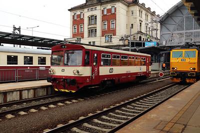 810 289 (95 54 5810 289-9 CZ-CD) at Prague Hlavni Nadrazi on 2nd July 2017