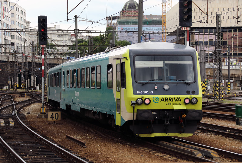 Arriva, 845 101 (95 54 5845 101-5 CZ-ARR) at Prague Hlavni Nadrazi on 12th July 2017 (2)