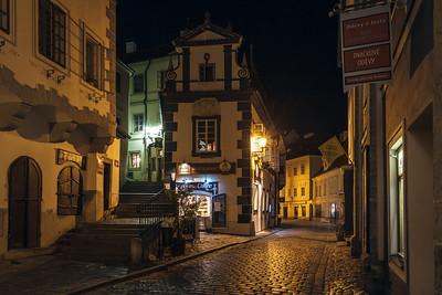 Alley in Český Krumlov