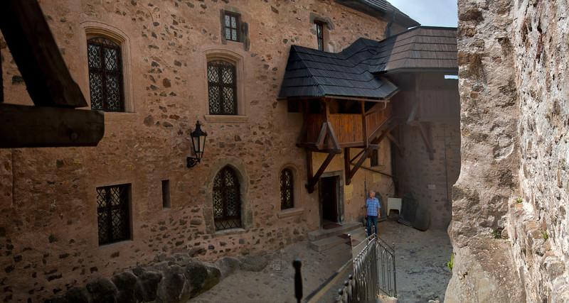 Loket Castle, City of Loket, Czech Republic / Zamek Loket, Hrad Loket. Czech Republic