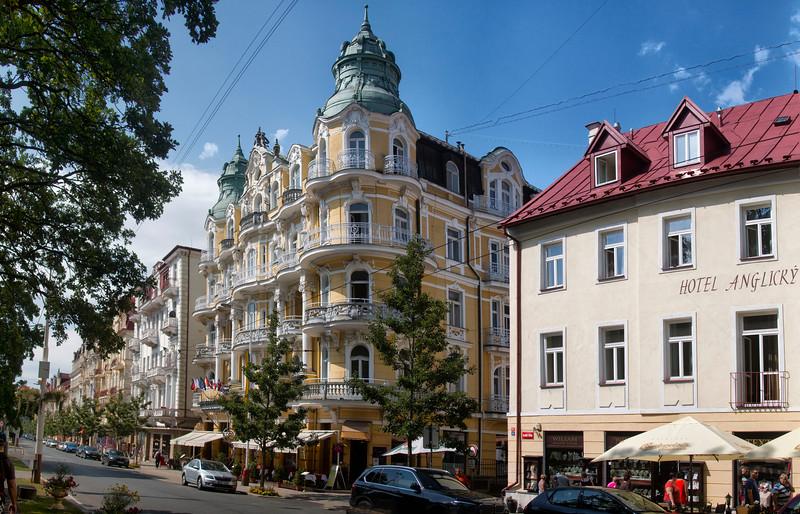 Bohemia Hotel, Mariánské Lázně, Czech Republic