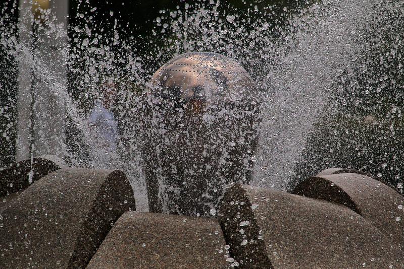 Singing Fountain, Mariánské Lázně, Czech Republic / Zpívající fontána, Mariánské Lázně, Czech Republic
