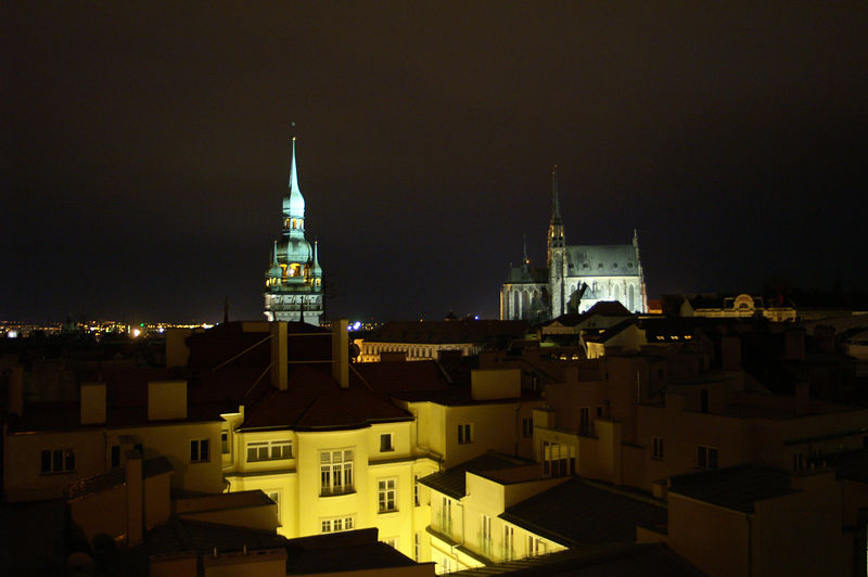Brno by night