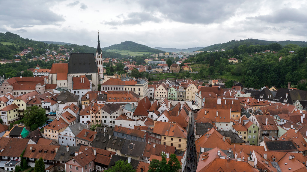 Visiting Cesky Krumlov from Prague