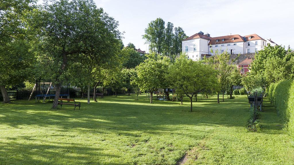 Orangerie apartment and accommodation in Cesky Krumlov, Czech Republic