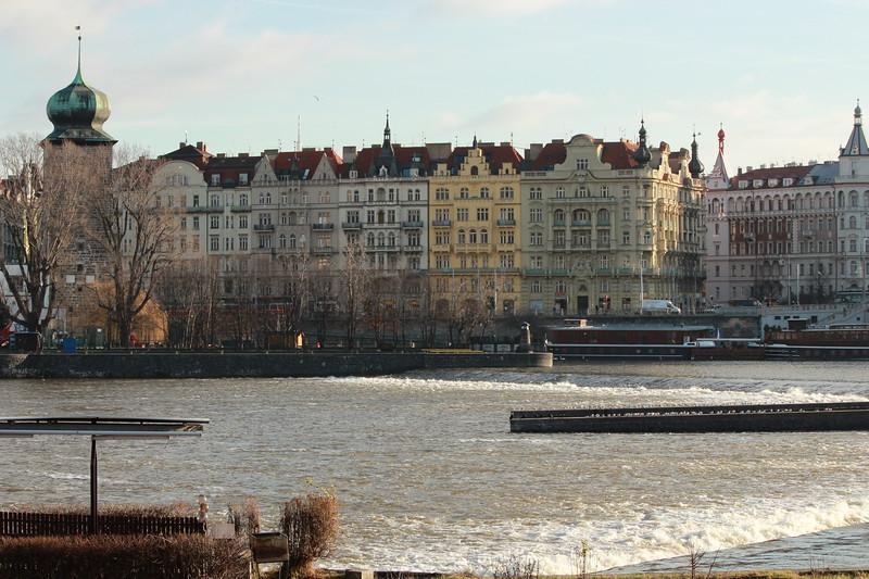 Slovansky Ostrov, The Vltava River