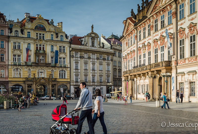 Sunny Day in Old Town Square