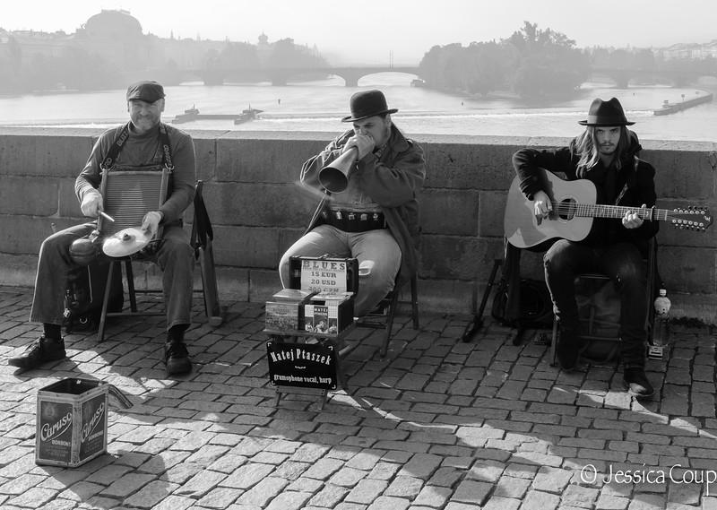 Blues on Charles Bridge