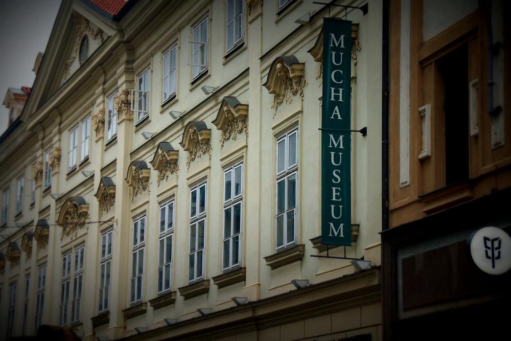Mucha Museum in Prague