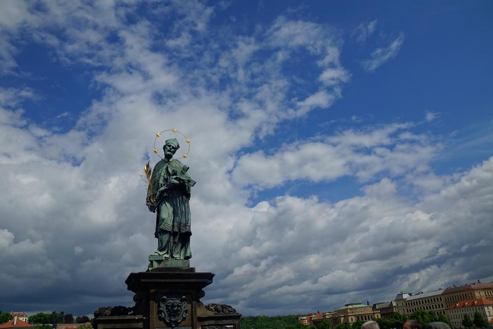 Views from Charles Bridge in Prague