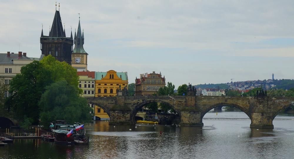 Views of the Vltava River