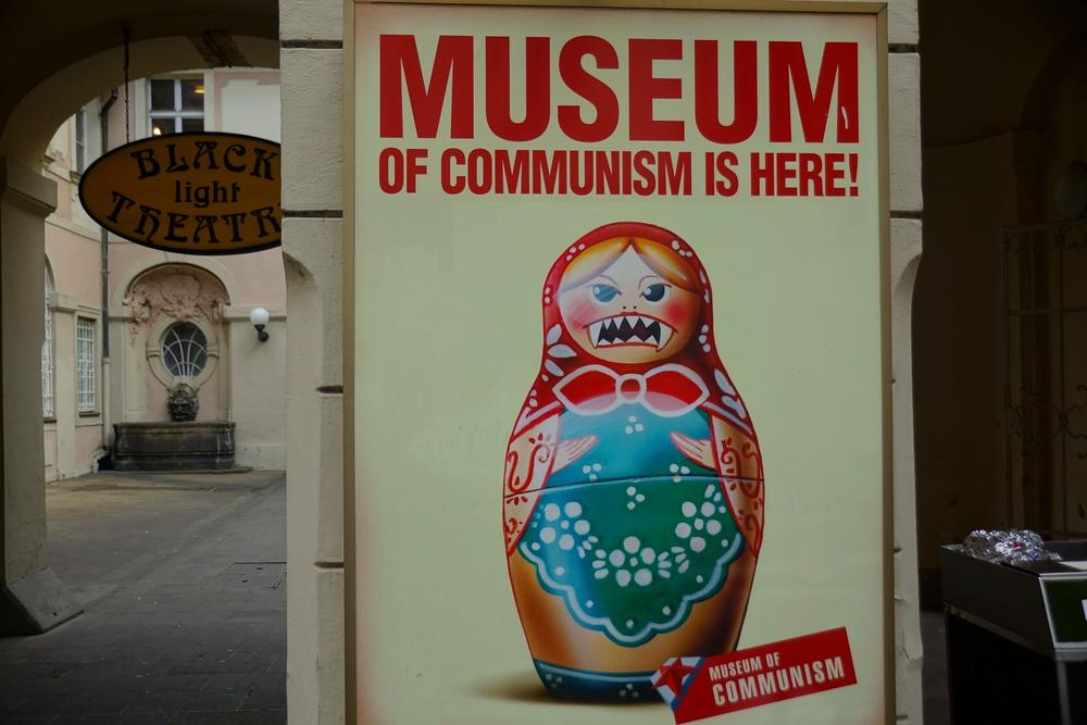 Prague's Museum of Communism