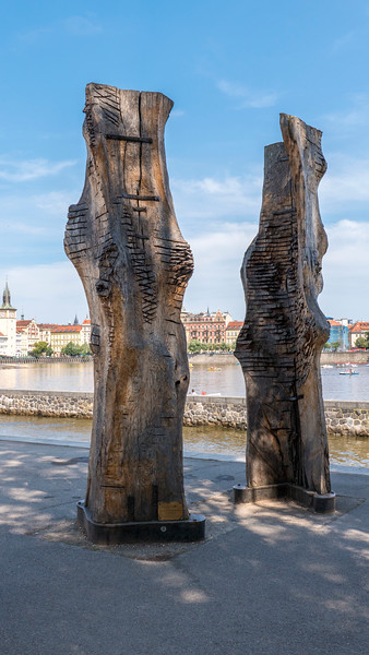 Titans Sculptures at Kampa Park