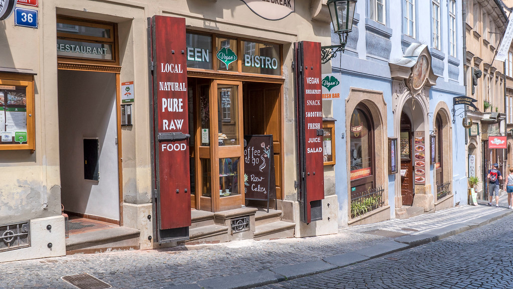 Vegan's Prague Green Bistro - Vegan restaurants in Prague
