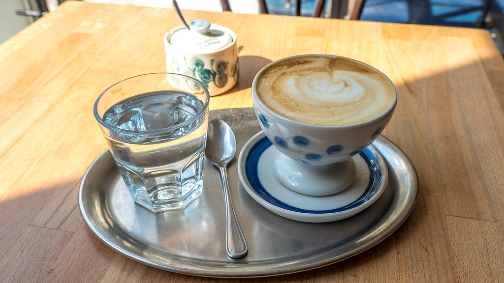 Mamacoffee in Prague - Vegan friendly coffee shop