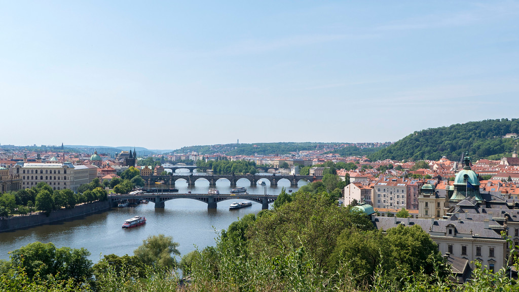 3 days in Prague - Letna Park - Best scenery in Prague