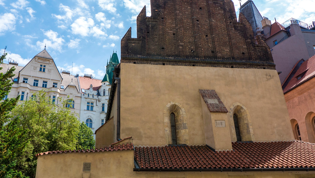 Old-New Synagogue in Jewish Quarter, Prague