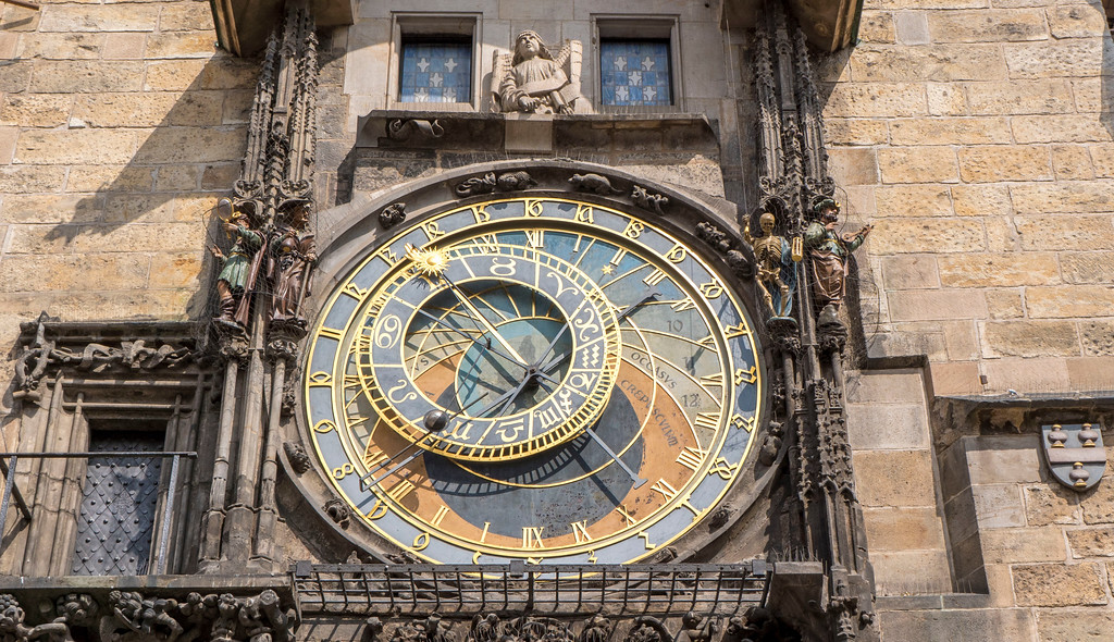 3 days in Prague - Prague astronomical clock in Old Town