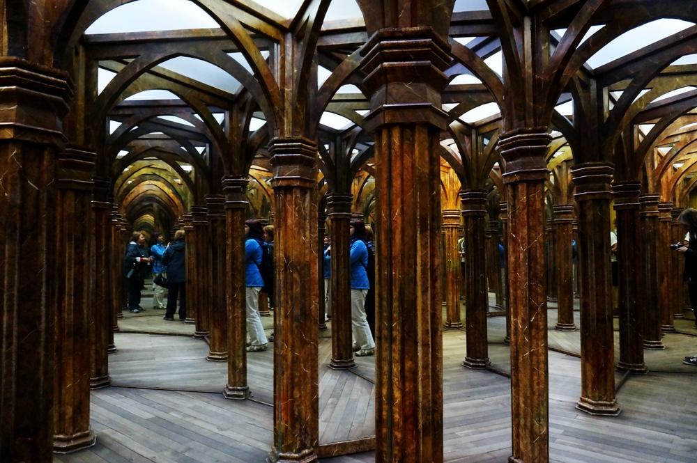Maze of Mirrors in Prague