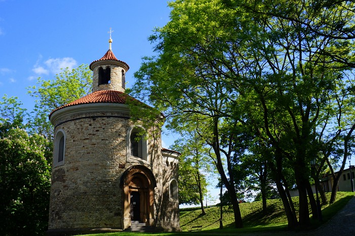 Travel in Europe: Rotunda of Saint Martin in Prague