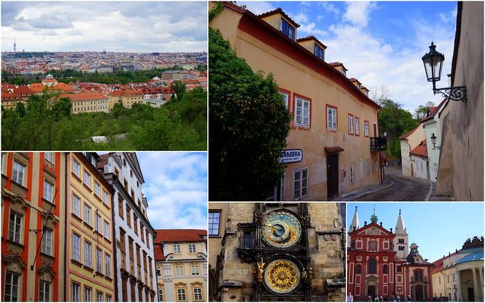Art and architecture in Prague, Czech Republic.