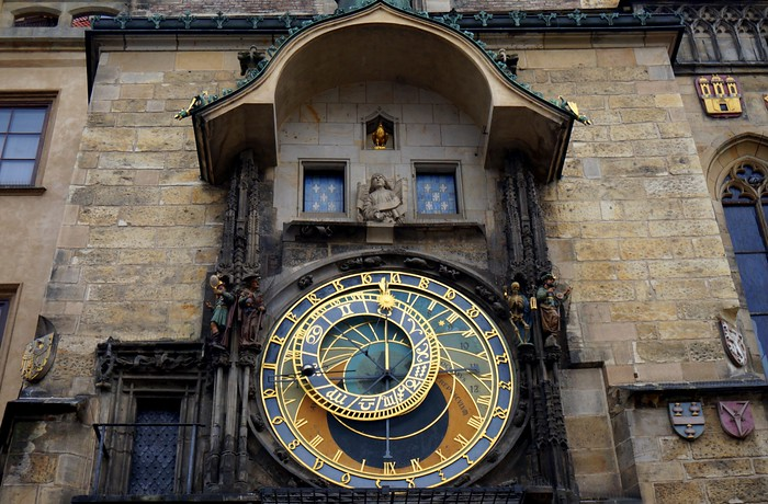 This astronomical clock has been ticking for 600 years in Prague