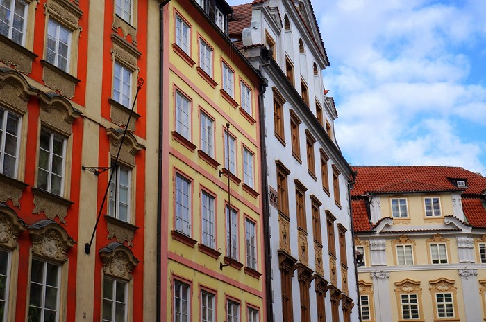 Architectural details in Prague