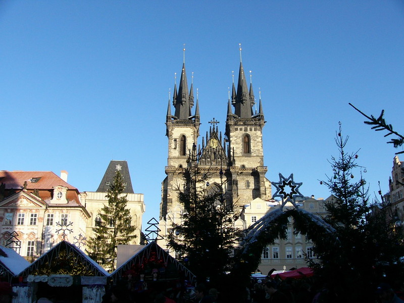 Old Town Square, Christmas