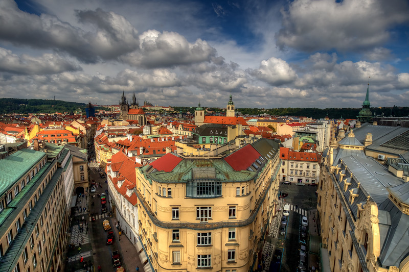 Clouds Over Old Town Prague