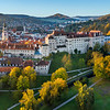 Cesky Krumlov Sunrise Castle View