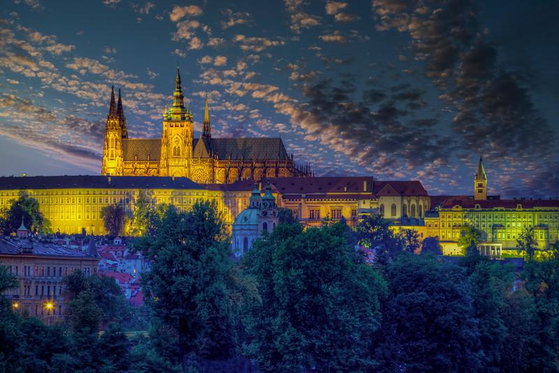 Prague Castle And Saint Vitus Cathedral, Prague