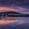 Sunset, Vltava River, Prague