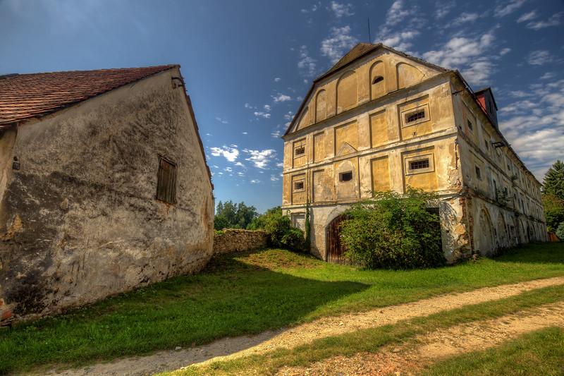 Abandoned Barn, Czezh Republic Countryside