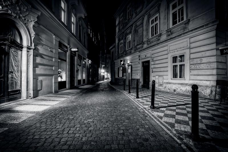 Alleyway In Prague