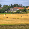 Hay Bales, Czech Countryside