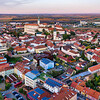 Mikulov Castle and Town at Dawn