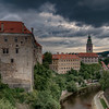 Storm Clouds Over Cesky Krumlov Castle