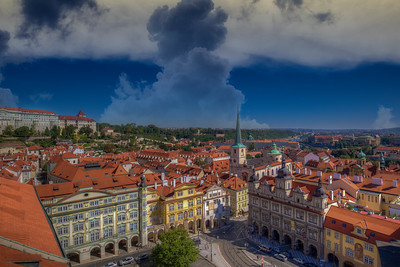 Massive Clouds Over Prague