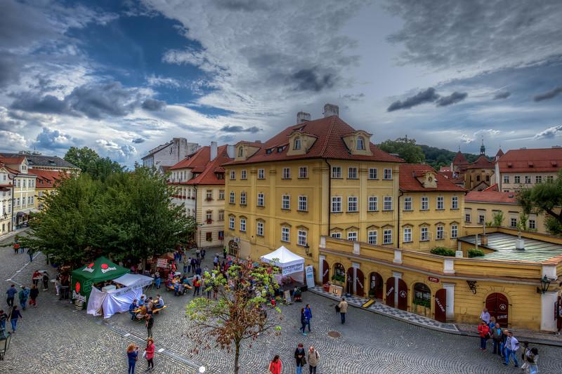 Square In Lesser Town Prague