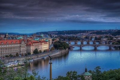 Bridges Over Vltava River, Prague