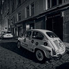 Fiat 500, Jewish Quarter In Prague