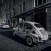 Fiat 500, Jewish Quarter In Prague