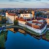 Jindrichuv Hradec Castle Aerial