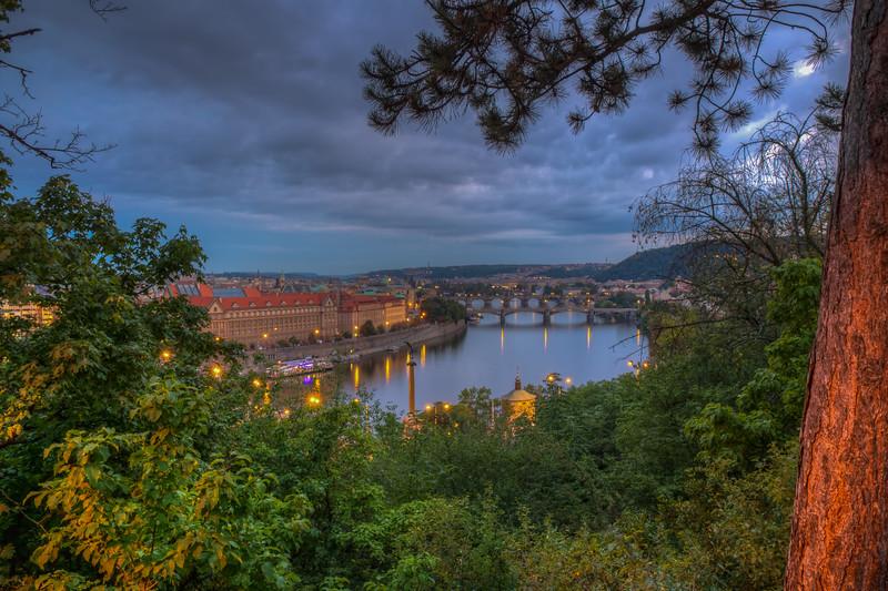 Old Town Prague From Letna Park