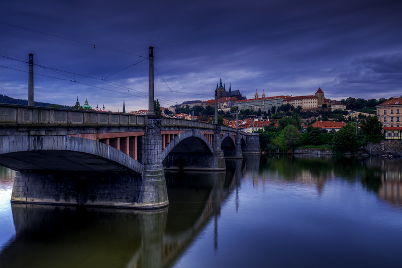 Manesuv Bridge, Prague