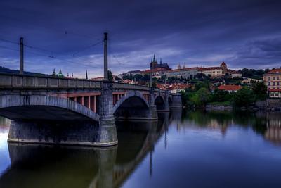 Manesuv Bridge, Prague
