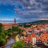 Town Of Cesky Krumlov, Czech Republic